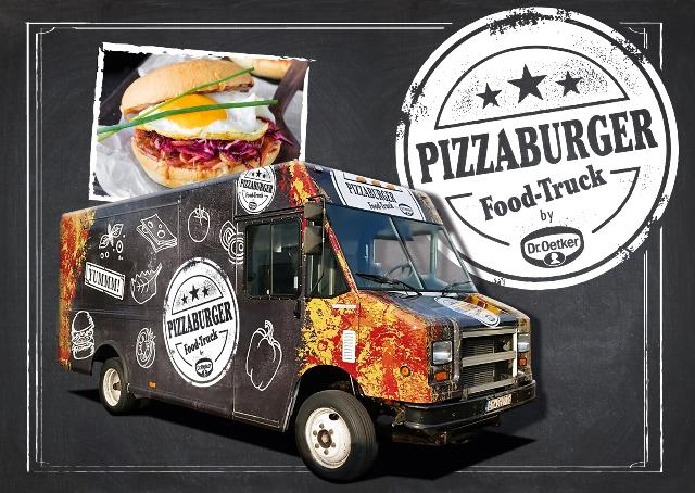 dr oetker s neuer food truck. Black Bedroom Furniture Sets. Home Design Ideas